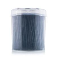 优家(UPLUS)黑色双圆头细纸轴多功能化妆清洁棉签200支(棉花棒 卸妆 棉签 卫生棉球)