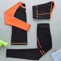 瑜伽服女套装 新款秋女士健身服健身房运动紧身衣裤健美操广场舞服装
