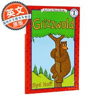 I Can Read系列Level 1 英文原版童书 Grizzwold 小熊格雷兹伍德 进口绘本 汪培�E第一阶段 儿