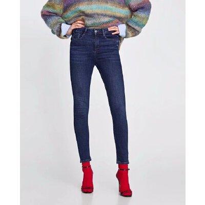 春装新款蝴蝶结饰高腰紧身裤小脚牛仔裤女08527051407 发货周期:一般在付款后2-90天左右发货,具体发货时间请以与客服协商的时间为准