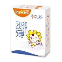 [当当自营]Insoftb/婴舒宝 超薄透气 羽薄纸尿裤 加大号XL20片(适合12kg以上)