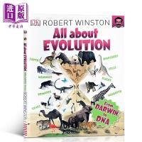 【中商原版】DK大课题 进化 Big Questions All About Evolution 儿童STEAM与百科科