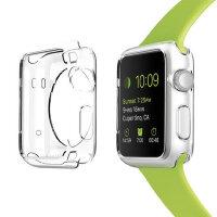 Allskin 苹果手表TPU保护套 Apple Watch纤薄透明TPU硅胶保护壳 iwatch外壳 苹果iWatc