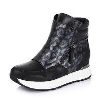 Bata/拔佳专柜同款山羊皮革女休闲靴AJ943DD5