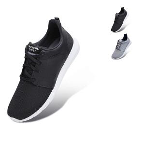 Skechers斯凯奇男鞋新款轻质低帮 网布减震舒适商务休闲鞋 52390