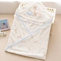 新生婴儿幼儿抱被用品抱被抱毯宝宝两用睡袋春秋夏季薄款