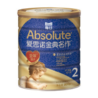 每日爱思诺金典名作 韩国原装进口婴儿配方奶粉2段配方罐装牛奶粉800g