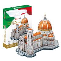 3d模型 立体拼图 智力玩具 益智拼插 圣母百花大教堂模型