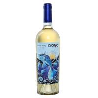 傲鱼智利原装原瓶进口红酒 海洋之王冬慕斯卡黛甜白葡萄酒750ml*1