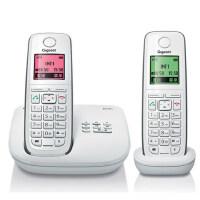 集怡嘉(Gigaset)原西门子品牌E710A套装数字无绳录音电话机