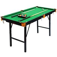 升降折叠迷你儿童台球桌家用标准斯诺克桌球美式黑8*品
