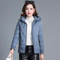 冬季轻薄短款棉衣女士韩版羽绒连帽小棉袄外套