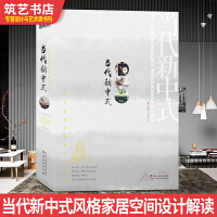 当代新中式 轻浅中式家居空间设计创新解读 名师作品 别墅公寓豪宅住宅样板房室内装饰装修装潢设计书籍