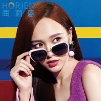 海俪恩(HORIEN)太阳镜女士2016新款 时尚偏光太阳镜女款墨镜驾驶镜N6318