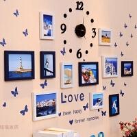 简约现代照片墙装饰创意个性相框墙客厅卧室相片框挂墙组合连体挂 相框组合