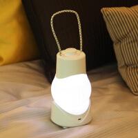 小夜灯 创意 手提小夜灯可充电池式台灯定时开关卧室床头暖光八音盒灯生日礼物送女友礼物