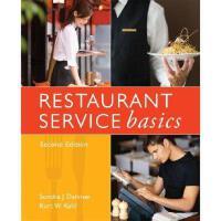 【预订】Restaurant Service Basics, Second Edition