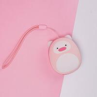 物有物语 暖手宝 USB迷你便携充电移动电源双面发热恒定温度暖手充电二合一暖宝宝