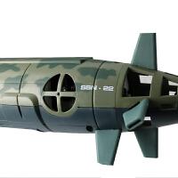 儿童电动玩具船模男仿真军舰美国核潜艇海狼号遥控船潜水艇