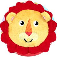 费雪 Fisher-Price 摇铃手抓布球 新生儿布艺玩具球婴幼儿启蒙玩具男宝宝款