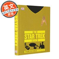 星际迷航百科 英文原版 The Star Trek Book 影视资料 DK出品 剧集设定 全彩图文 精装 Hardcover