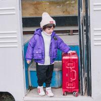 儿童连帽棉衣外套2018新款冬季棉袄男童小童宝宝保暖加厚童装