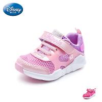 【99元任选2双】迪士尼Disney童鞋18新款儿童运动鞋米妮女童学生鞋网面透气户外休闲鞋 (5-10岁可选)S737