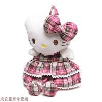 冬季韩版幼儿园大小班儿童书包男女婴儿背包1-4周岁kitty凯蒂猫背包秋冬新款