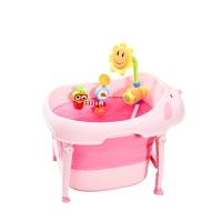 坐躺宝宝浴盆浴桶大号 洗澡桶儿童可折叠婴儿洗澡盆