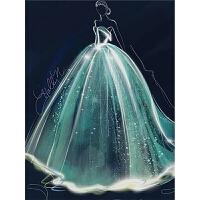 十字绣欧式婚纱贴结婚新款满钻客厅卧室画