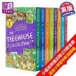 【中商原版】小屁孩树屋历险记8册盒装 英文原版 Story Treehouse 疯狂树屋历险记 章节故事书 6-12岁