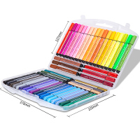 水彩笔学生儿童画画绘画涂鸦笔三角杆彩色画笔