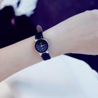 潮流时尚女表简约皮带学生复古文艺小巧气质小清新手表