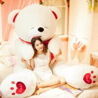 毛�q玩具公仔抱抱熊送女友圣�Q�生日�Y物