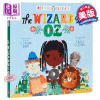 【中商原版】睡前文学:绿野仙踪 Bedtime Classics Wizard Of Oz 童话故事 哄睡读物 0~3