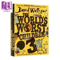 【中商原版】David Walliams 大卫威廉 The World Worst Children3 世界糟糕的孩子