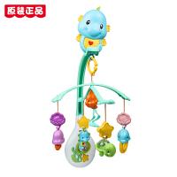 费雪(Fisher-Price)玩具0-1岁婴儿床铃婴儿摇铃新生儿玩具儿童节礼物 海马安抚床铃DFP12