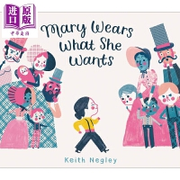 【中商原版】Mary Wears What She Wants穿出风格的玛丽 精品绘本 精装 4~8 英文原版