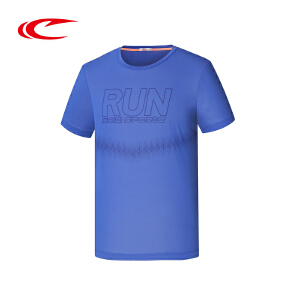 赛琪运动T恤男装2016夏季新款圆领跑步速干舒适短袖T恤116465
