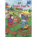 【预订】10 Easter Fun Books: Stickers, Stencils, Tattoos and