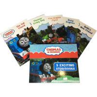 托马斯和朋友们 5册手提礼盒装 儿童好伙伴 陪伴成长益智情商培养书 英文原版 Thomas & Friends Car