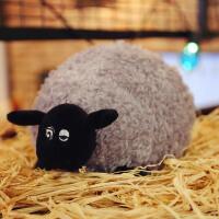 20190712215516819小羊肖恩公仔 黑脸羊小羊肖恩雪莉布娃娃毛绒玩具卡通公仔玩偶睡觉抱枕儿童礼物