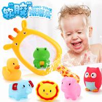 宝宝洗澡玩具浴缸儿童婴儿喷水戏水捏捏叫1-3岁智力男孩女孩小孩2