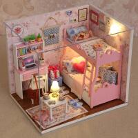 6-8-9-7-10岁手工娃娃屋过家家 公主女童儿童玩具小女孩生日礼物