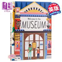 【中商原版】Ruby Taylor:欢迎来到博物馆 Welcome to the Museum 精品绘本 纸板书 操作书