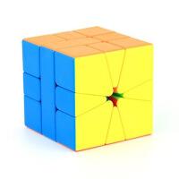 异形魔方三阶学生初学者镜面三角斜转金字塔SQ魔方套装