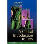 【预订】Critical Introduction to Law