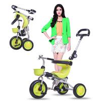宝宝自行车1-3-5周岁童车 折叠儿童三轮车脚踏车手推车轻便