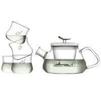 [当当自营]Vatiri 乐怡一叶飘香过滤耐热玻璃茶具五件礼盒套装 VS0002