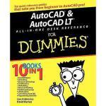 【预订】Autocad & Autocad Lt All-In-One Desk Reference For